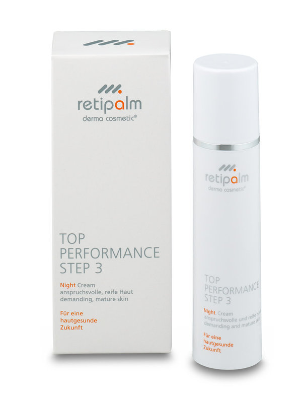 """Reife, trockene Haut""  --Night Cream Top Performance ""Stufe 3"" »Inhalt: 50 ml«"