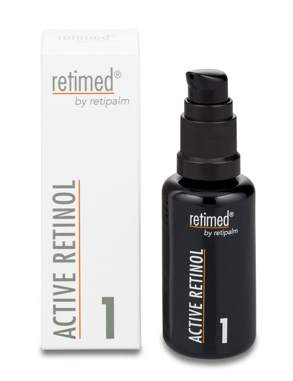 """Retinol, reines""  --ACTIVE RETINOL Step 1 »Inhalt: 30 ml«"