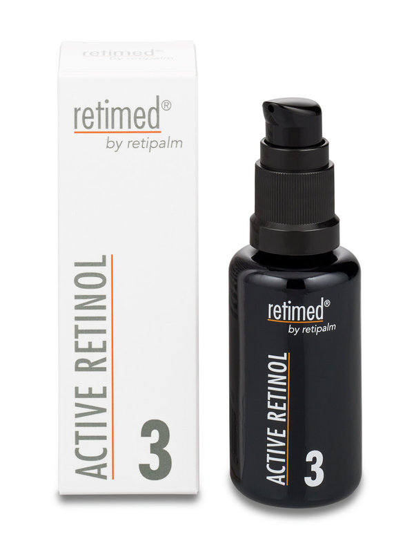 """Retinol, reines""  --ACTIVE RETINOL Step 3 »Inhalt: 30 ml«"