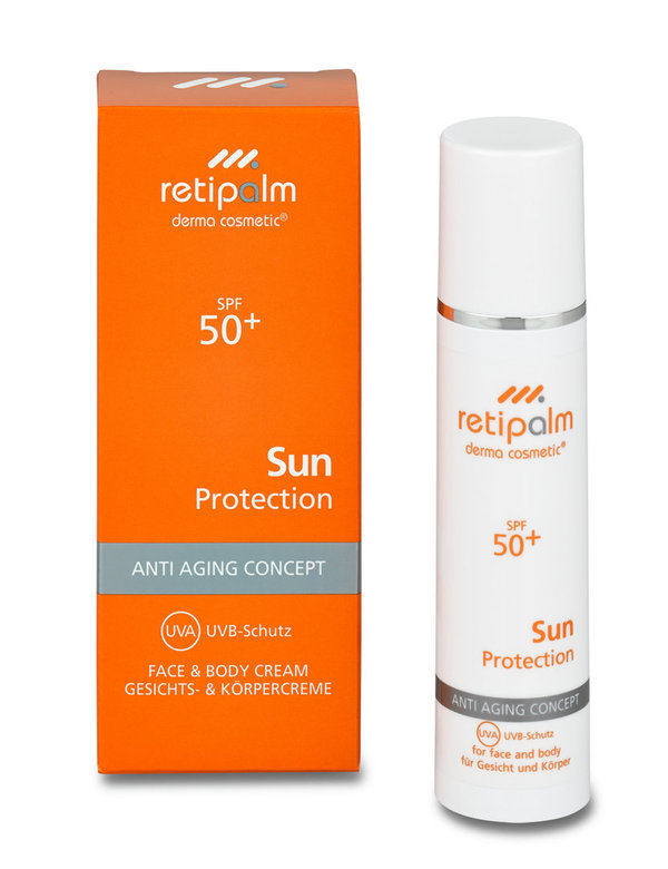 "Sun Body & Face Cream ""SPF 50+""»Inhalt: 50 ml«"