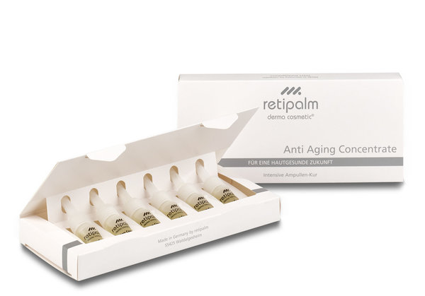 Anti Aging Concentrate »Inhalt: 6 x 3 ml« Intensive Ampullen-Kur mit Vitamin A und E